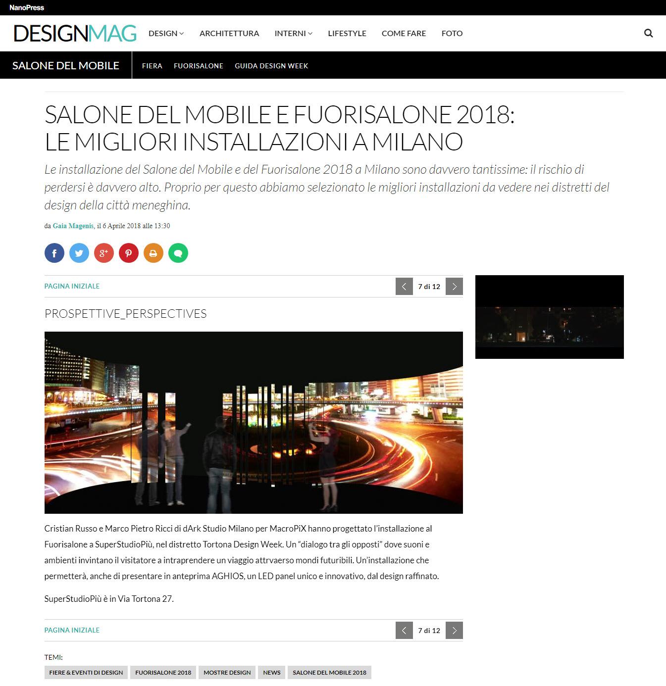dArk studio architettura milano dicono di noi